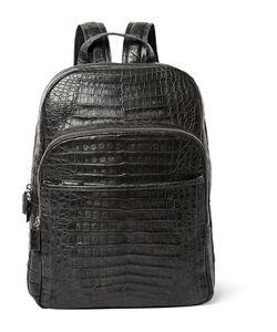 Santiago Gonzalez | Crocodile Backpack Gray