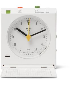 Braun | Reflex Control Travel Alarm Clock White