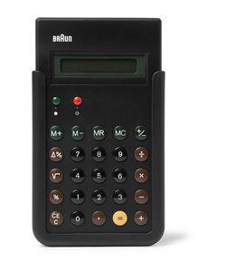 Braun | Et66 Calculator Black