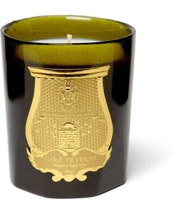 Cire Trudon | Ernesto Tobacco And Leather Scented Candle Green