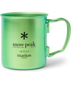 Snow Peak | Single-Wall Titanium Mug 450ml Green