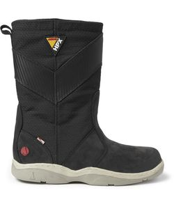 Musto Sailing | Hpx Leather And Canvas Boots Black