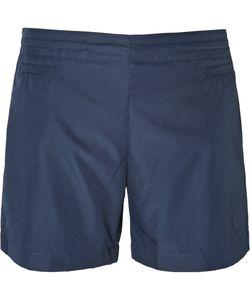 Iffley Road   Shell Running Shorts Blue