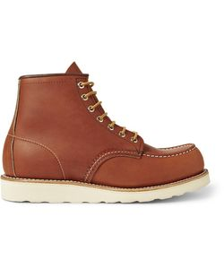 Red Wing Shoes | Rubber-Soled Leather Boots Brown