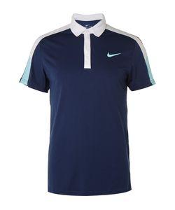 Nike Tennis   Team Court Dri-Fit Polo Shirt Blue