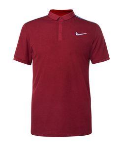 Nike Tennis | Advantage Premier Rf Dri-Fit Piqué Polo Shirt Burgundy