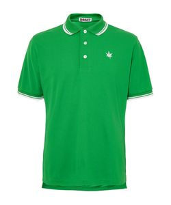 Boast | Contrast-Tipped Piqué Polo Shirt Green