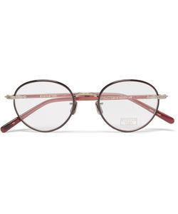 Eyevan | Round-Frame Acetate Optical Glasses Red
