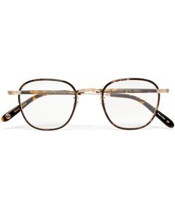 Garrett Leight California Optical | Grant Square-Frame Acetate And Metal Optical Glasses Tortoiseshell