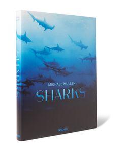 Taschen | Sharks Hardcover Book Blue