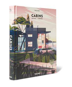 Taschen | Cabins Hardcover Book Red