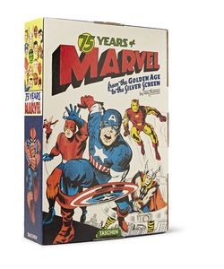 Taschen | 75 Years Of Marvel Comics From The Golden Age To The