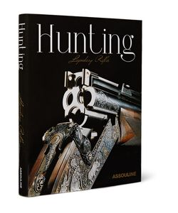 Assouline | Hunting Legendary Rifles Hardcover Book Black