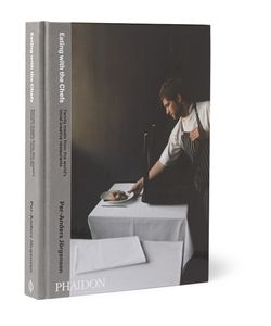 Phaidon | Eating With The Chefs Hardcover Book Gray