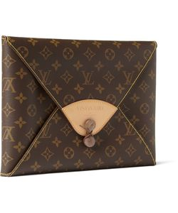 Visionaire | Fashion Special Limited Edition Portfolio In Leather Louis Vuitton Case Brown