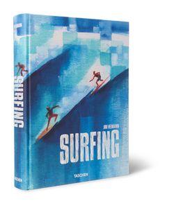 Taschen | Surfing Hardcover Book Blue