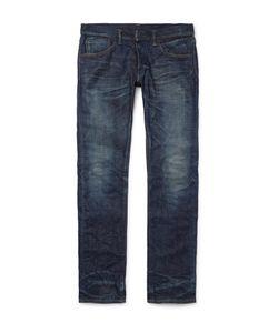 Fabric-Brand & Co | Doran Slim-Fit Selvedge Denim Jeans Blue