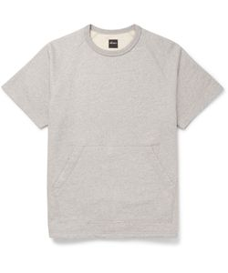 Albam | Mélange Cotton-Jersey Sweatshirt Gray