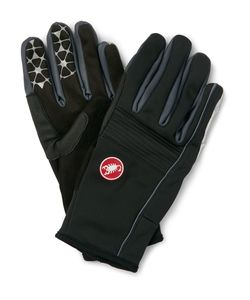 Castelli | Chiro 3 Panelled Windstopperreg Gloves Black