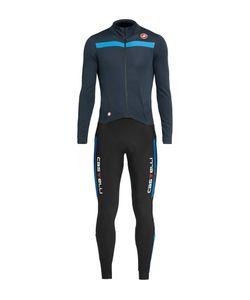 Castelli | Sanremo 2 Stretch-Jersey Thermosuit Blue