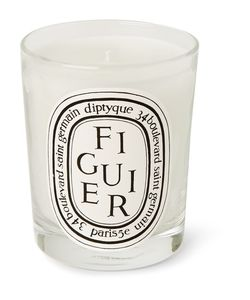 Diptyque | Figuier Scented Candle 190g White
