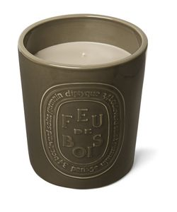 Diptyque | Feu De Bois Indoor Outdoor Scented Candle 1500g Purple