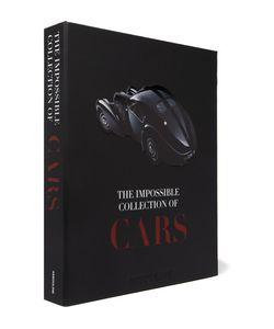 Assouline | The Impossible Collection Of Cars Hardcover Book Black