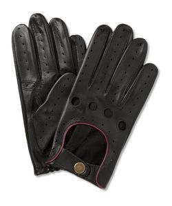 DENTS | Perforated Leather Driving Gloves