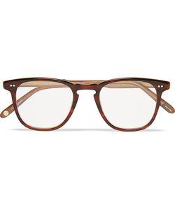 Garrett Leight California Optical | Brooks Square-Frame Acetate Optical Glasses Brown