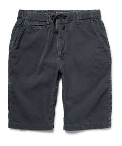 Beams | Slim-Fit Indigo-Dyed Cotton Shorts Blue