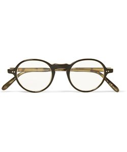Garrett Leight California Optical | Coeur Dalene Round-Frame Acetate Optical Glasses Black