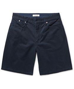 NONNATIVE | Dweller Slim-Fit Cotton-Twill Shorts Blue