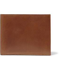Tarnsjo Garveri   Leather Billfold Wallet Brown