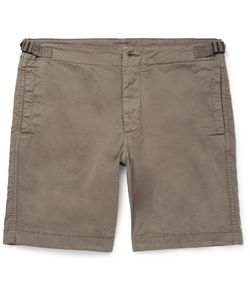 Albam | Cotton Shorts Green