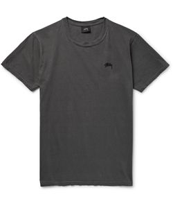 Stüssy | Cotton-Jersey T-Shirt Gray