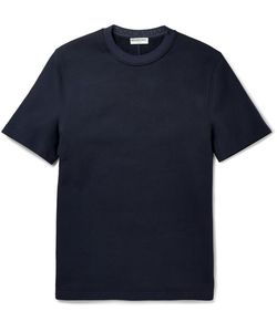 Balenciaga | Cotton-Jersey Sweatshirt Blue