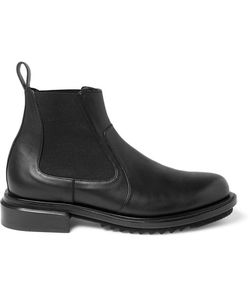 Solid Homme | Leather Chelsea Boots Black