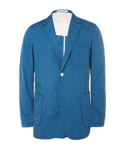 Beams Plus | Slim-Fit Unstructured Cotton Blazer Blue