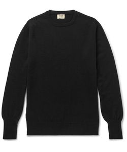 William Lockie | Oxton Cashmere Sweater Black