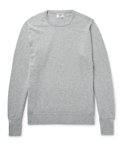 William Lockie | Oxton Cashmere Sweater Gray