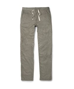 Oliver Spencer Loungewear | Lounge Lux Cotton-Flannel Trousers Gray