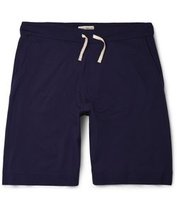 Oliver Spencer Loungewear | Supima Cotton-Jersey Shorts Blue
