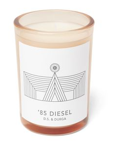 D.S. & Durga | 85 Diesel Scented Candle 200g White