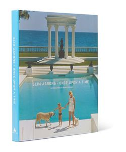 Abrams | Slim Aarons Once Upon A Time Hardcover Book Blue
