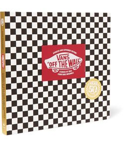 Abrams | Vans Off The Wall 50th Anniversary Edition Hardcover Book Black