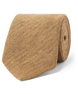 Marwood | 7cm Woven Silk Tie Neutrals