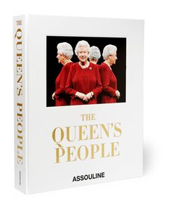 Assouline | The Queens People Hardcover Book Red
