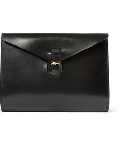 Tarnsjo Garveri   Leather Portfolio Black