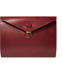 Tarnsjo Garveri   Leather Portfolio Burgundy
