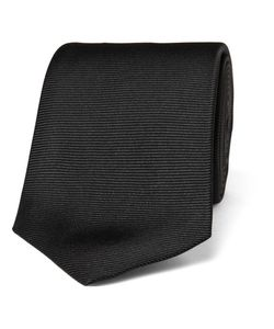 Turnbull & Asser | Ribbed Silk Tie